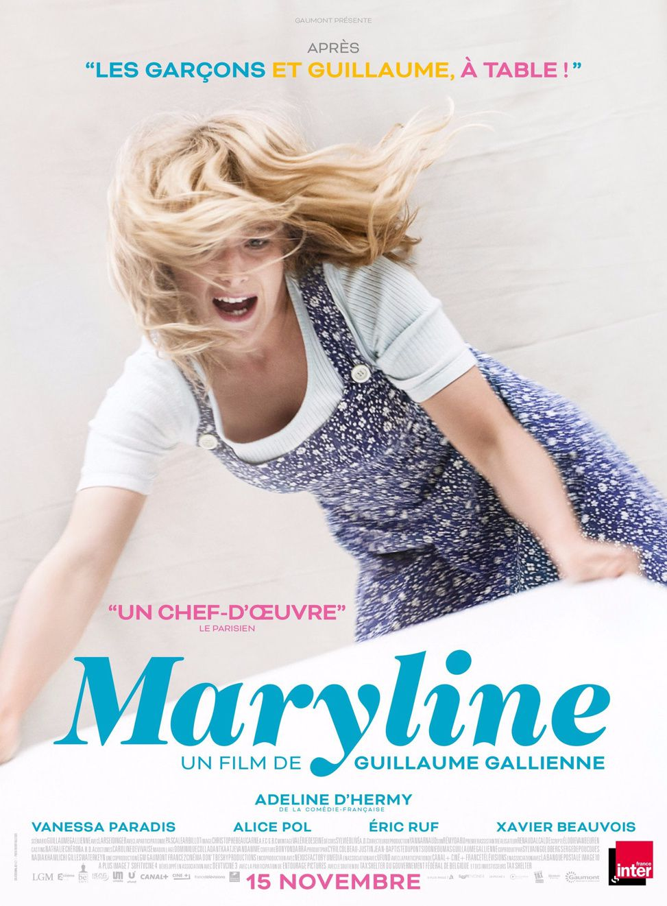 Maryline &amp&#x3B; Guillaume à table // l'affiche
