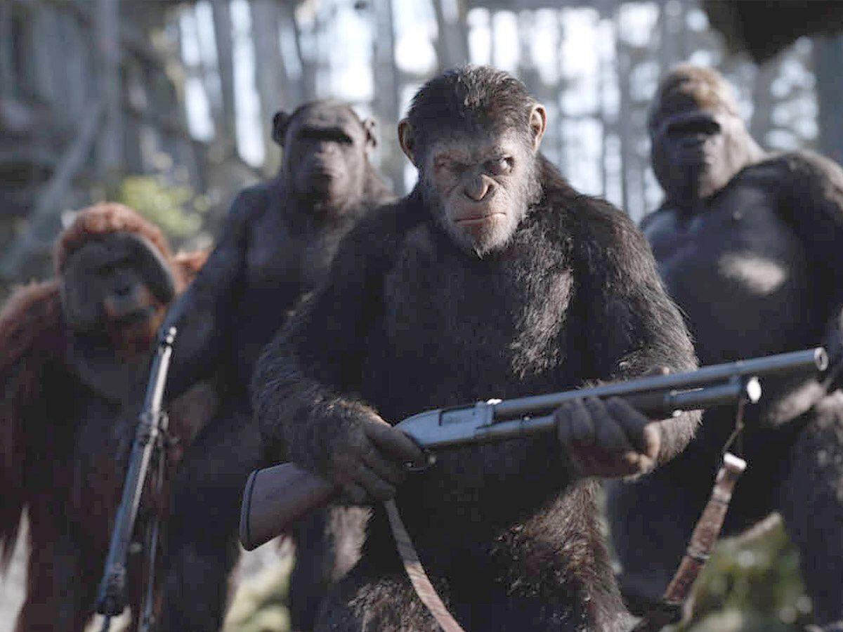 Dernier volet de la trilogie La planète des singes : Suprématie c'est pour aujourd'hui et c'est à ne pas rater .