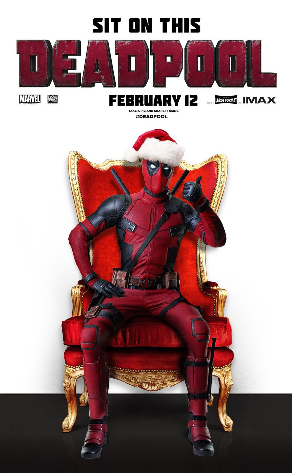 Le MARVEL SUPER BADASS :: DEADPOOL rendez-vous le 12/02/2016