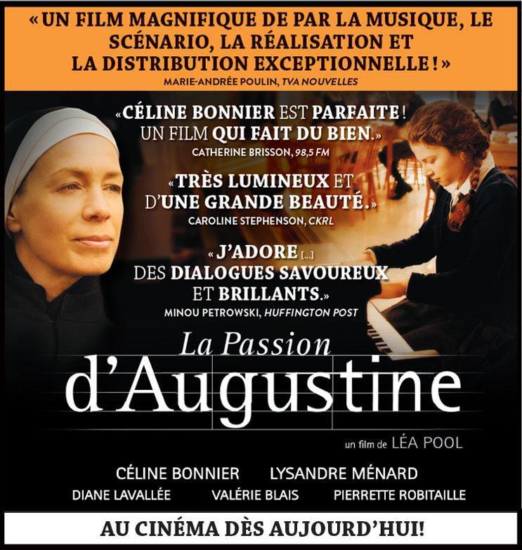 #FFFANGOULEME LA PASSION D'AUGUSTINE