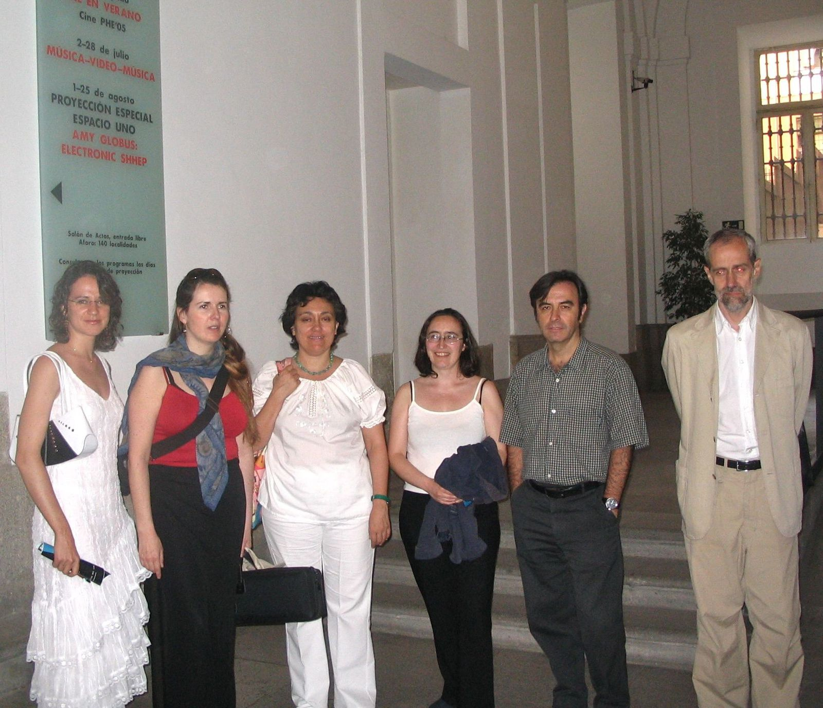 Concert flûte et électronique à Madrid, par Cécile Daroux et Nicolas Vérin