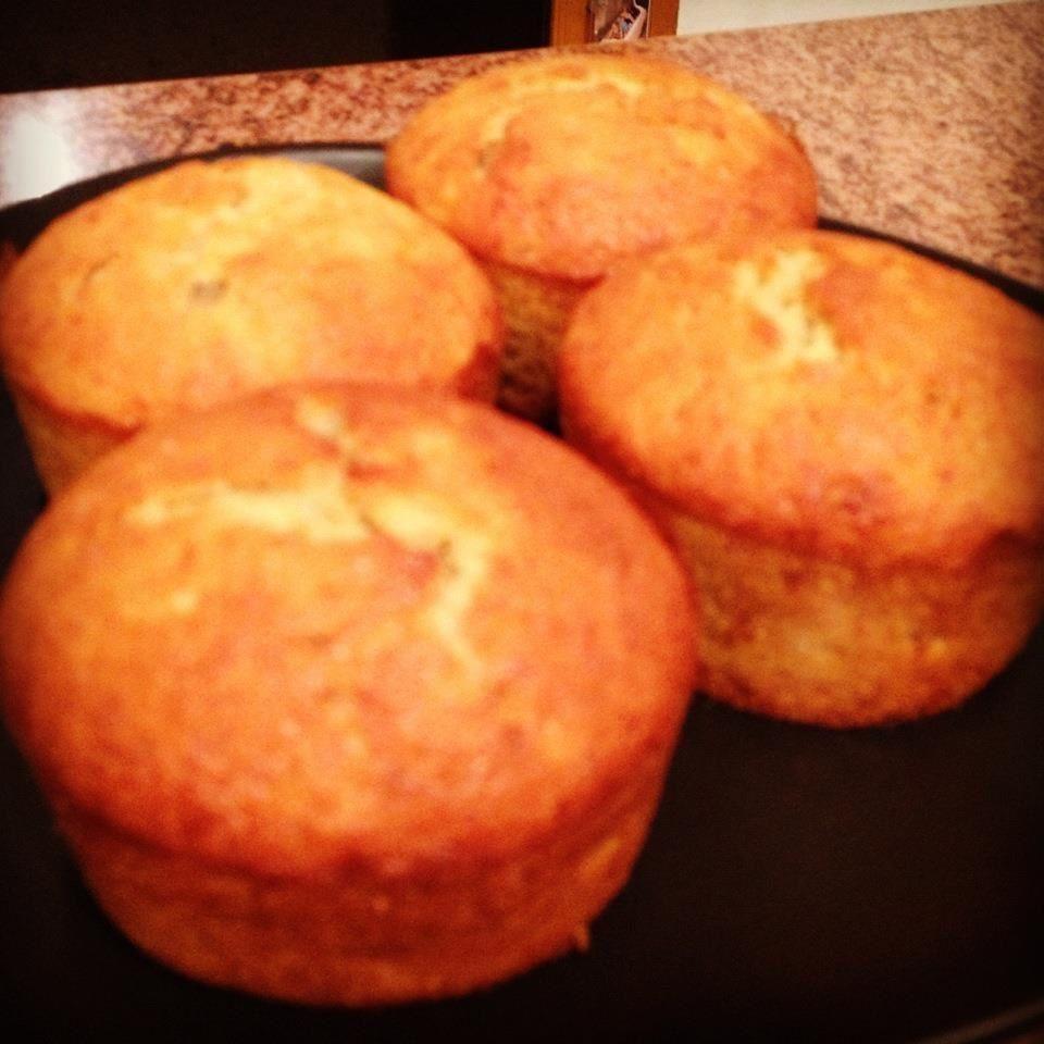 muffins de fruits confits