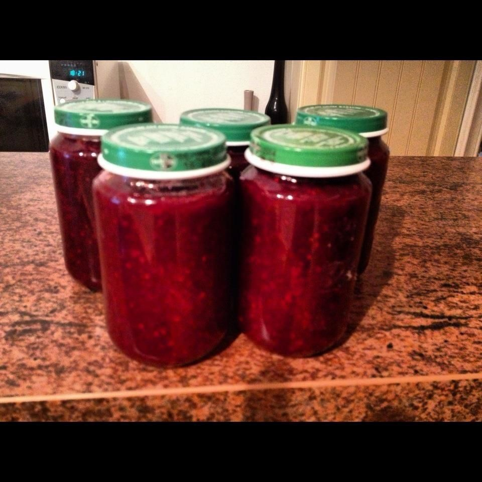 confiture de fruit rouge