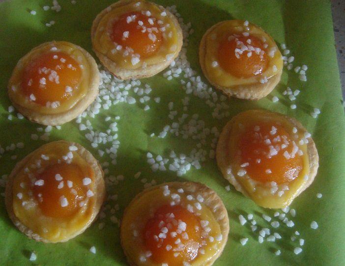 Feuilleté aux abricots