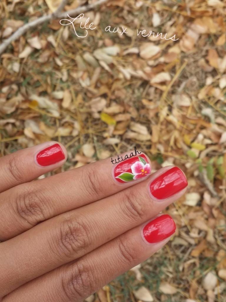 Rouge Louboutin / nail art #2