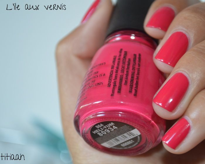 [swatch] China Glaze // Yeli-yum du rose de Barbie