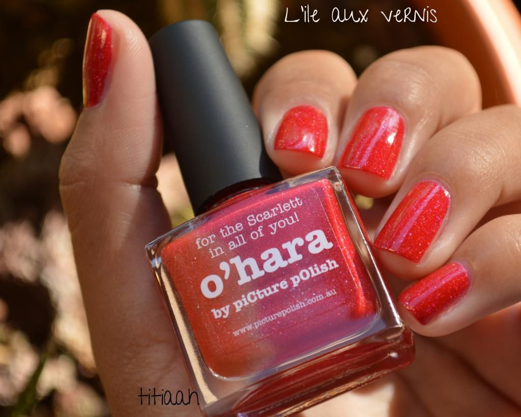 [swatch] Picture polish// O'hara
