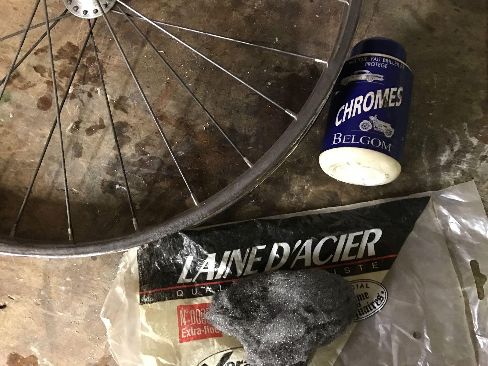 demonter roue solex