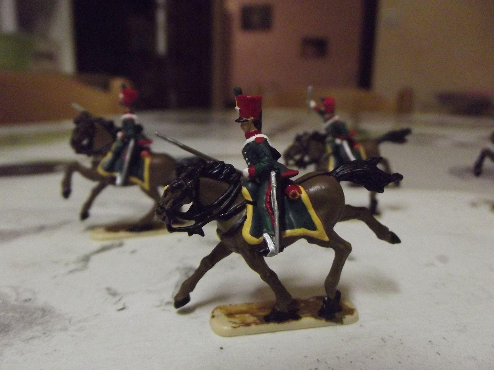 Les éclaireurs iront rejoindre un diorama sur le theme de la Campagne de France 1814...