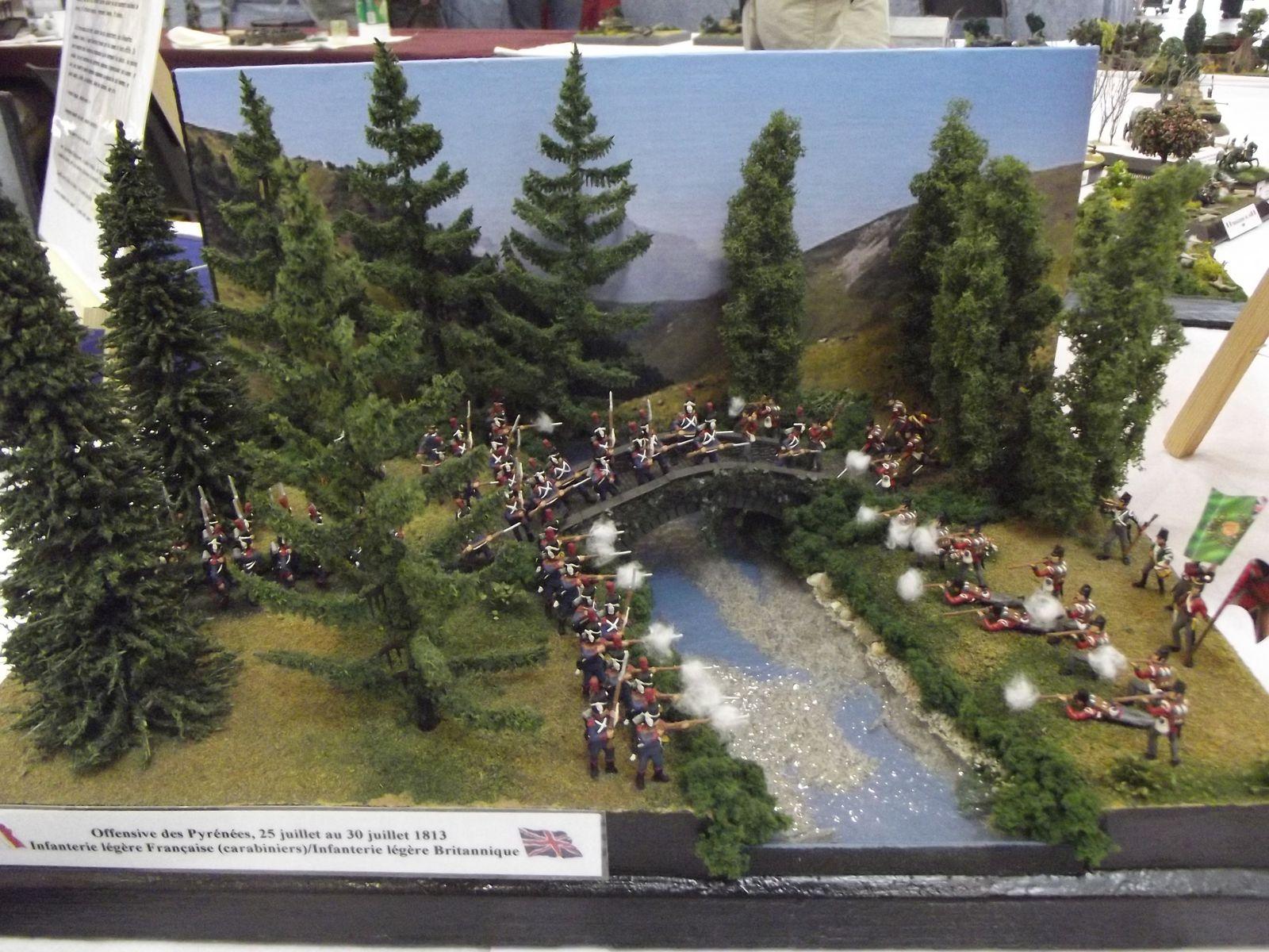 Ce diorama a connu un franc succès , le décor à beaucoup plu...........(je n'avais pas encore ajouté l'oie égarée)