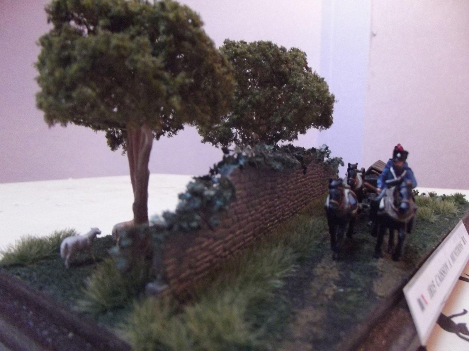 Petit diorama de présentation ..................que j'ai exposé à MONS...............