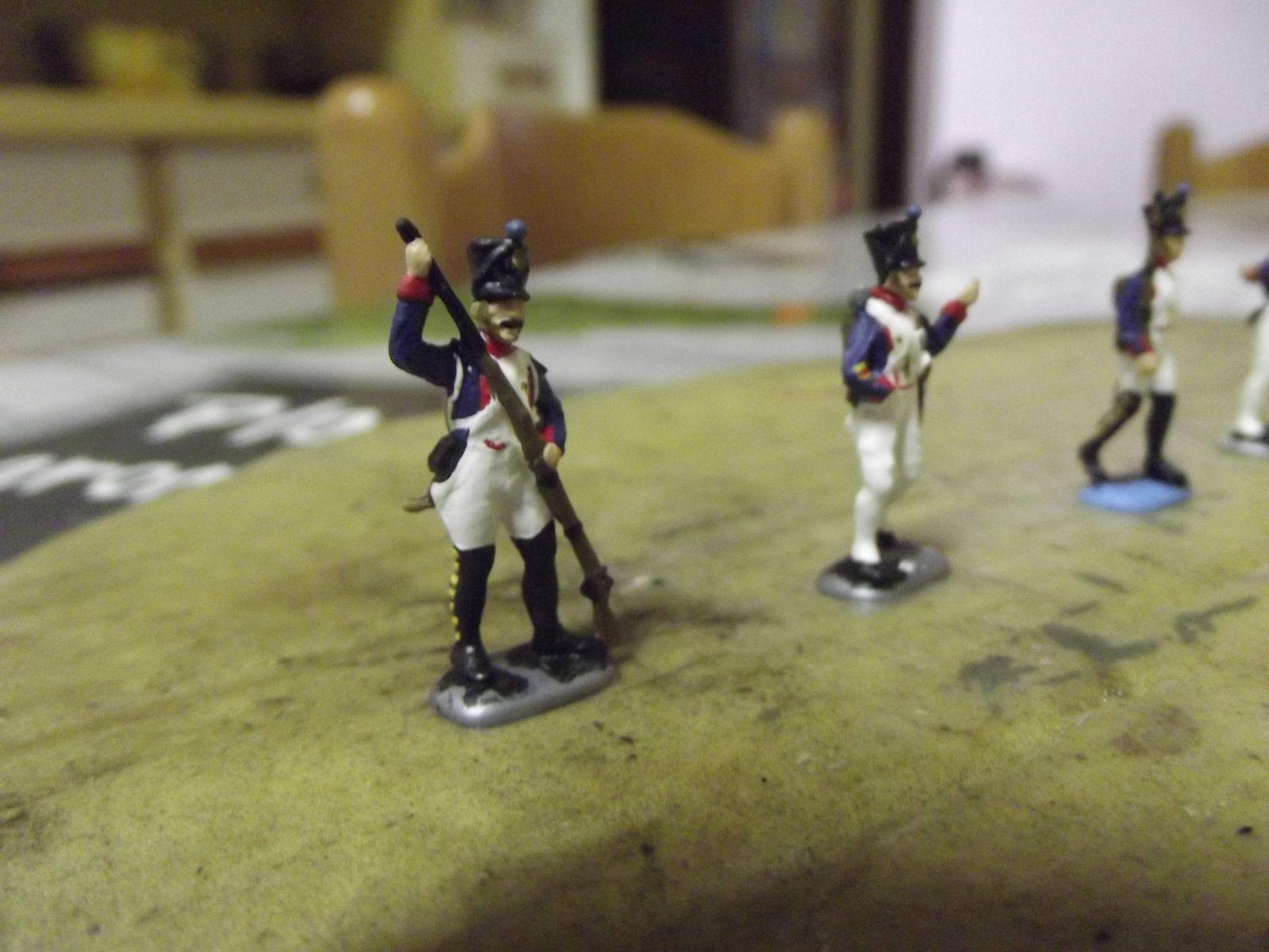 54éme et 55éme Rgt de ligne , juin 1815 (2).