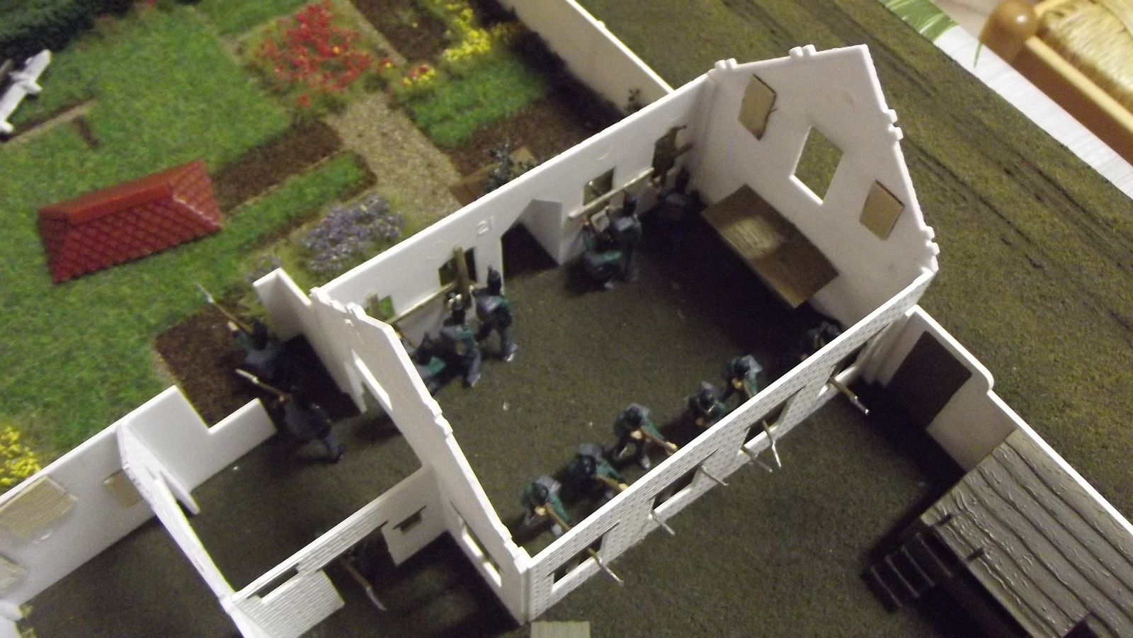 KING'S GERMAN LEGION : 2éme bataillon juin 1815 (6)