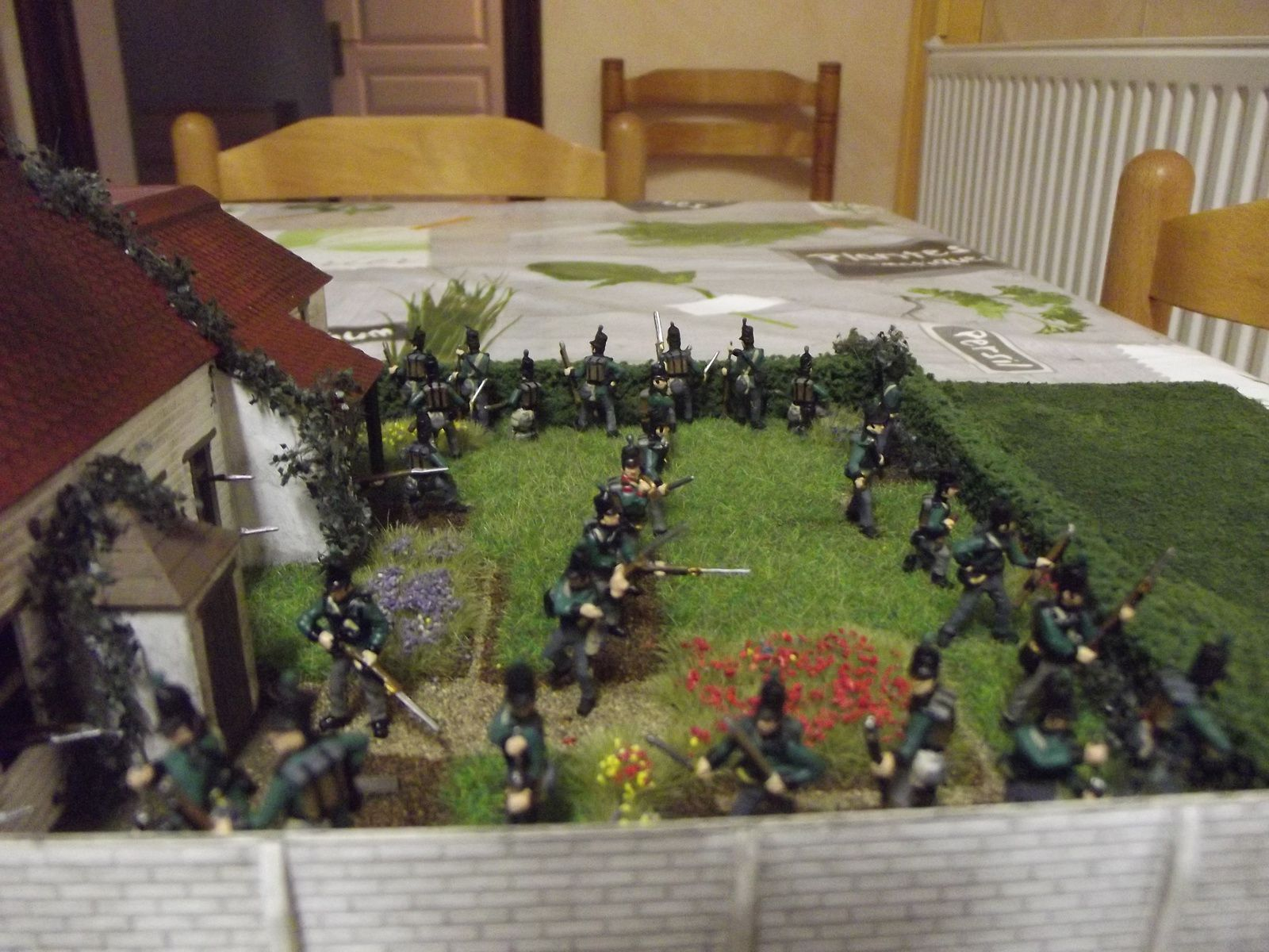 KGL , défense de la Haye Sainte le 18 juin 1815 ..