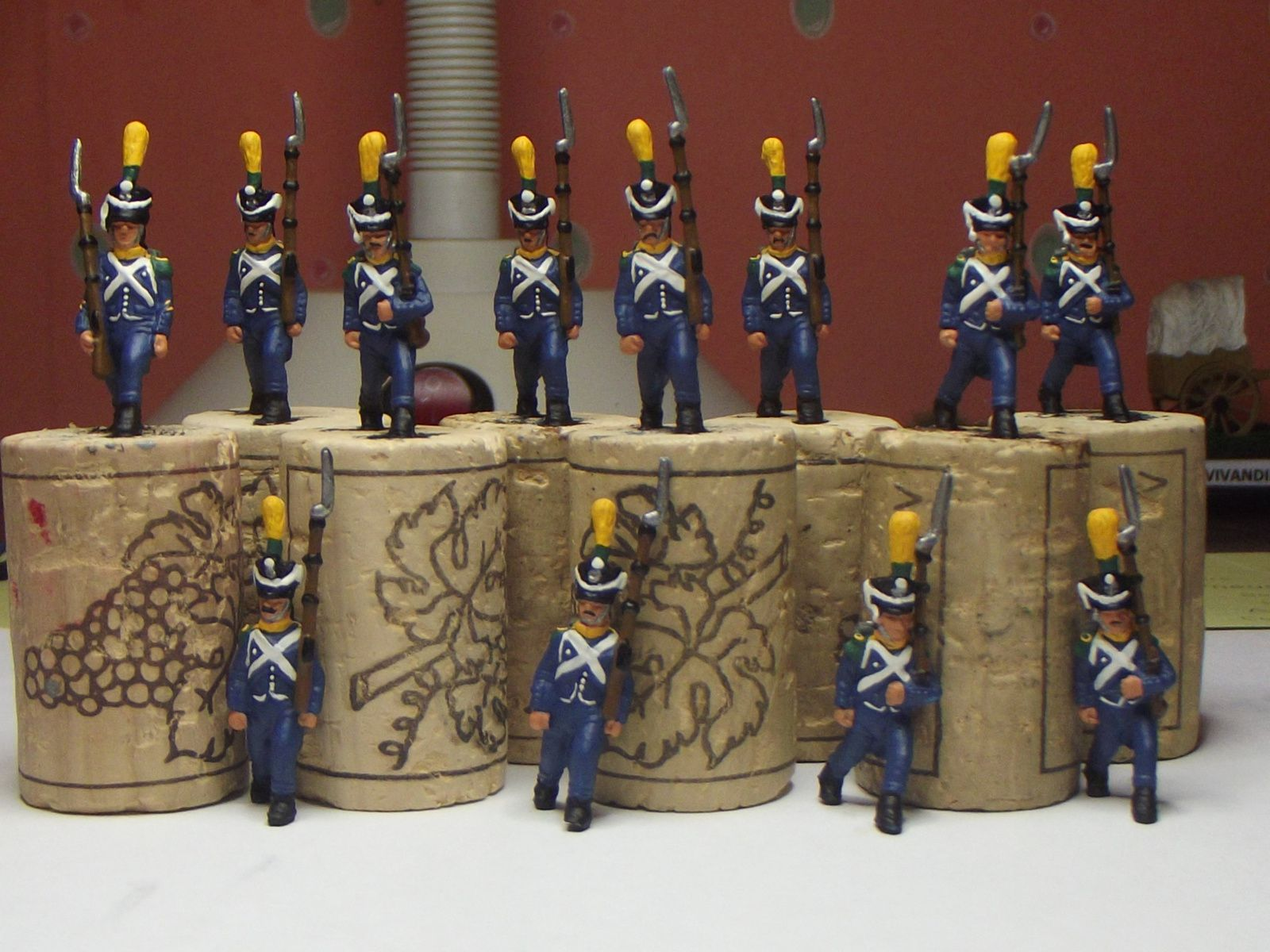 VOLTIGEURS ....CHASSEURS........CARABINIERS.....