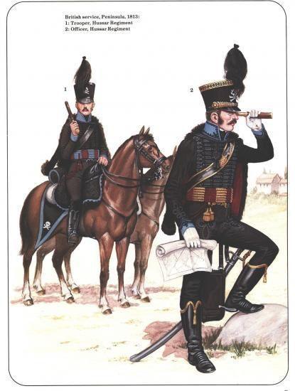 1/Hussard de la mort Prussien , 2/Brünswick 3/ Français 1793....