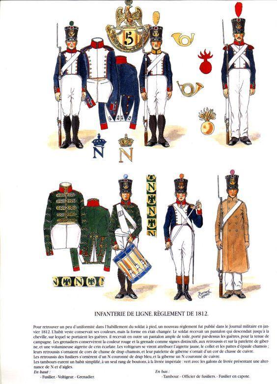 CARRE FRANCAIS .....1812..