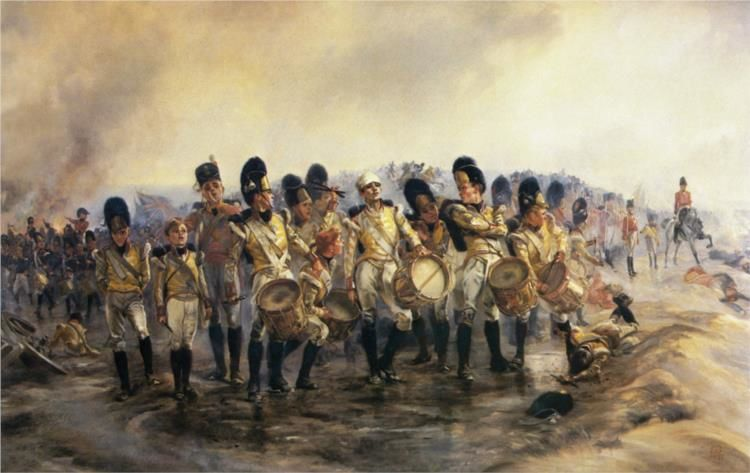 Steady the drums and fifes ...1897