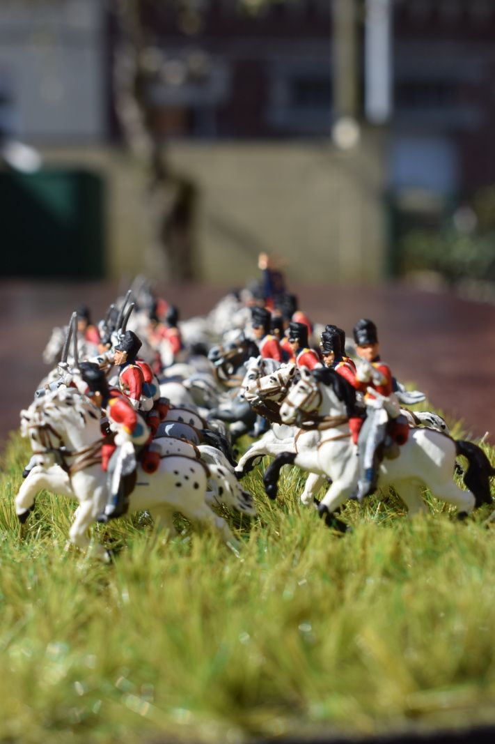 CHARGE DES SCOTS GREYS ......