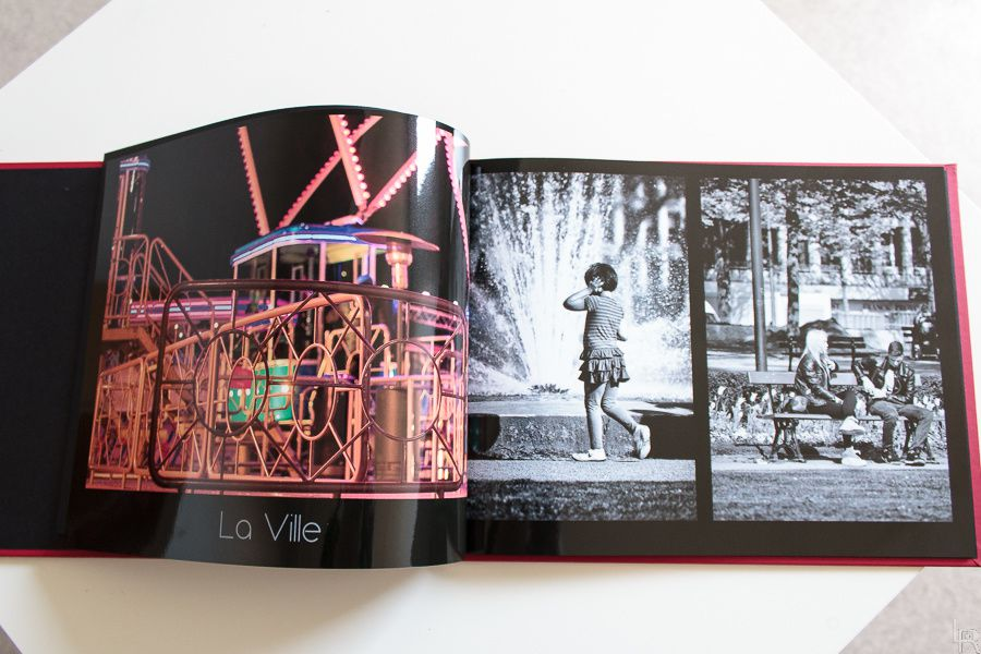 Test: Le livre photo Luxe par Photobox