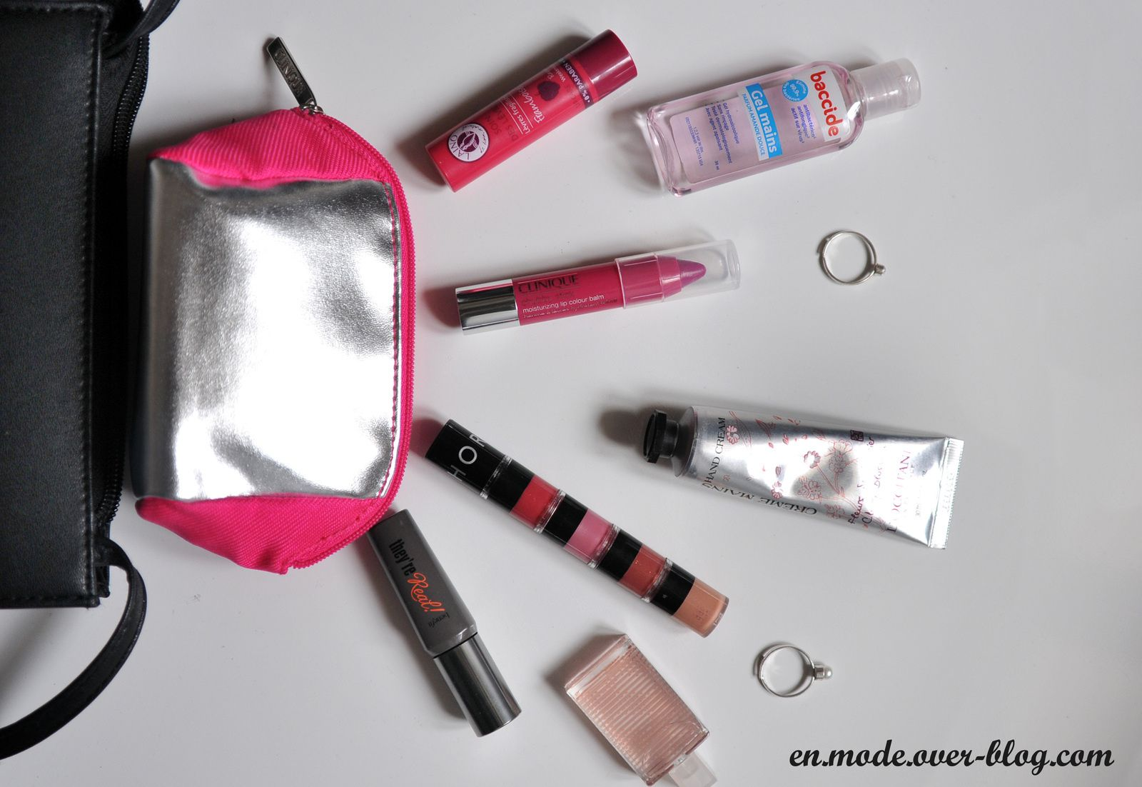 En mode... What's in my bag ?
