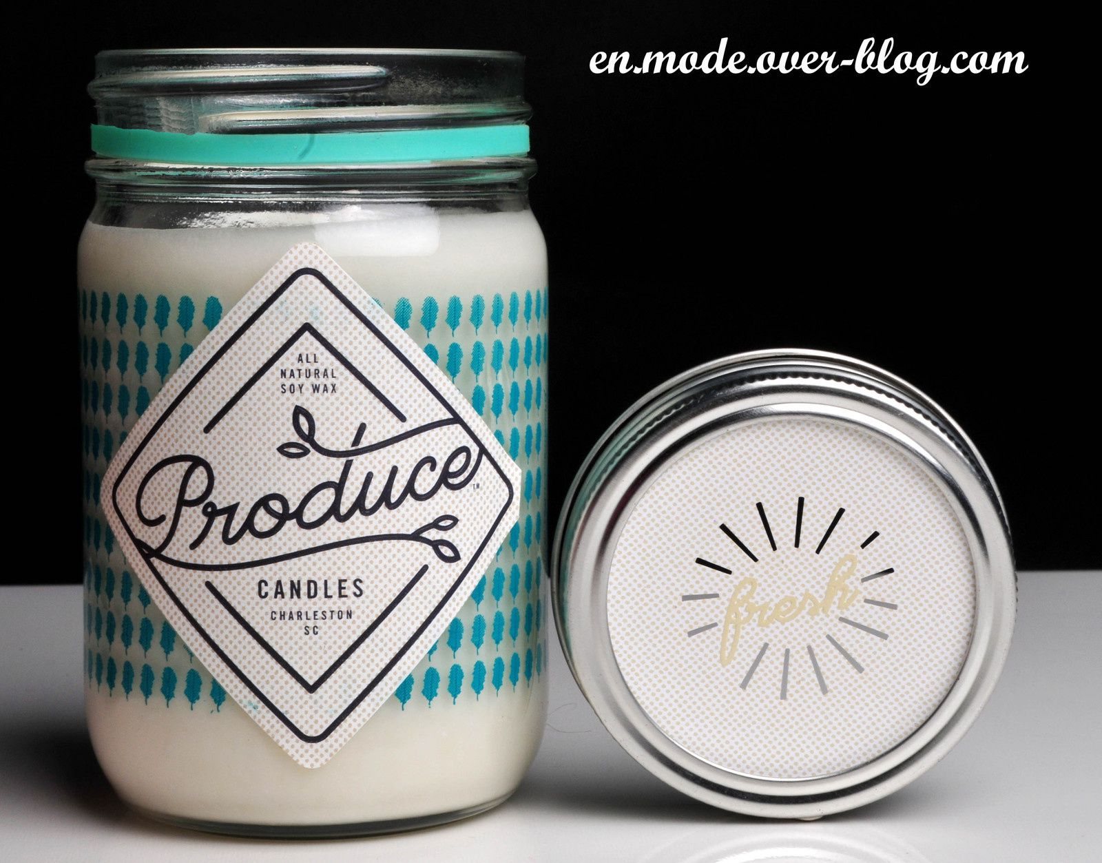 En mode... Produce Candle by All Home Everything