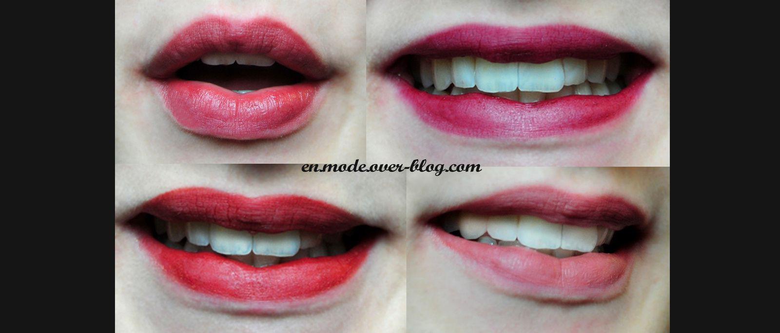 En mode... Mes 5 rouges à lèvres Ellis Faas favoris pour le printemps