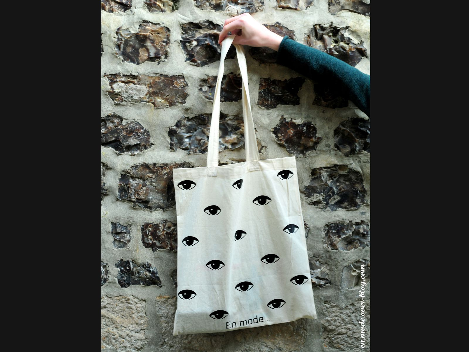 En mode... Tote bag inspiration Kenzo