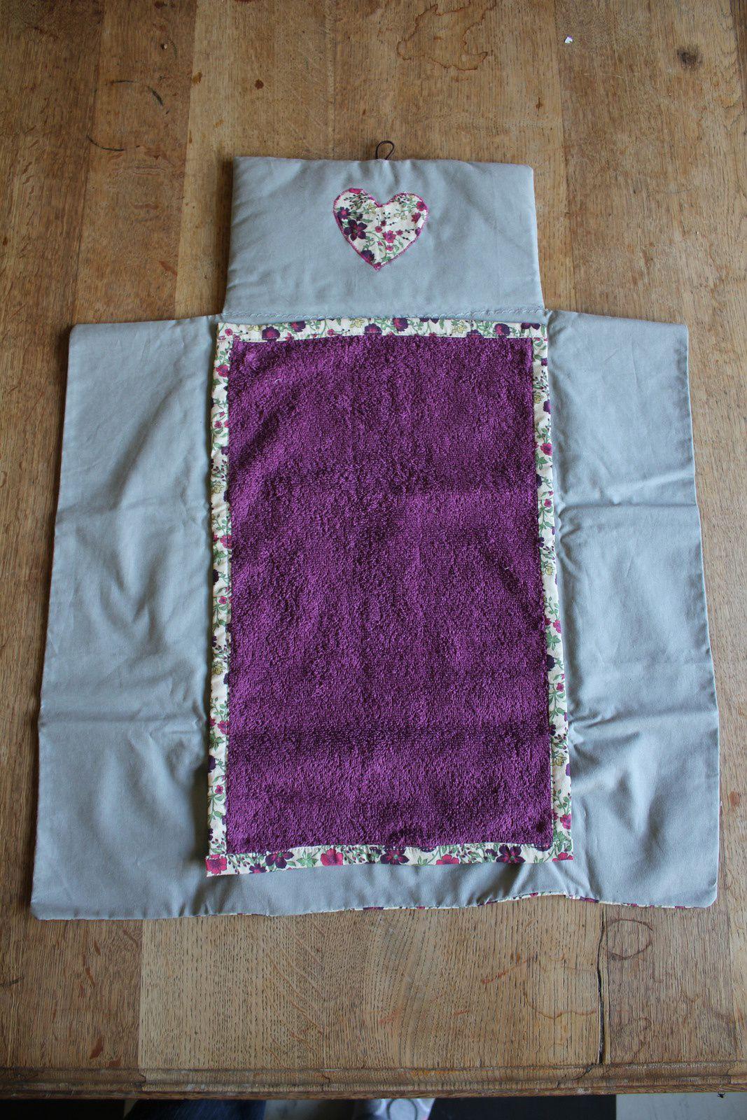 Le tapis de lange nomade (avec tuto inside !)