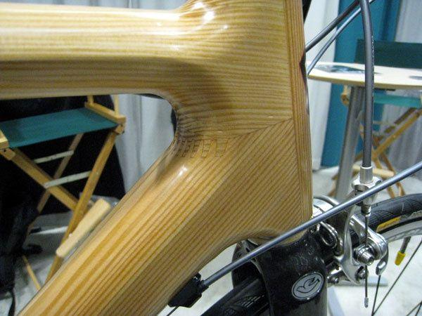 Un cadre de vélo en bois WTF ?!?