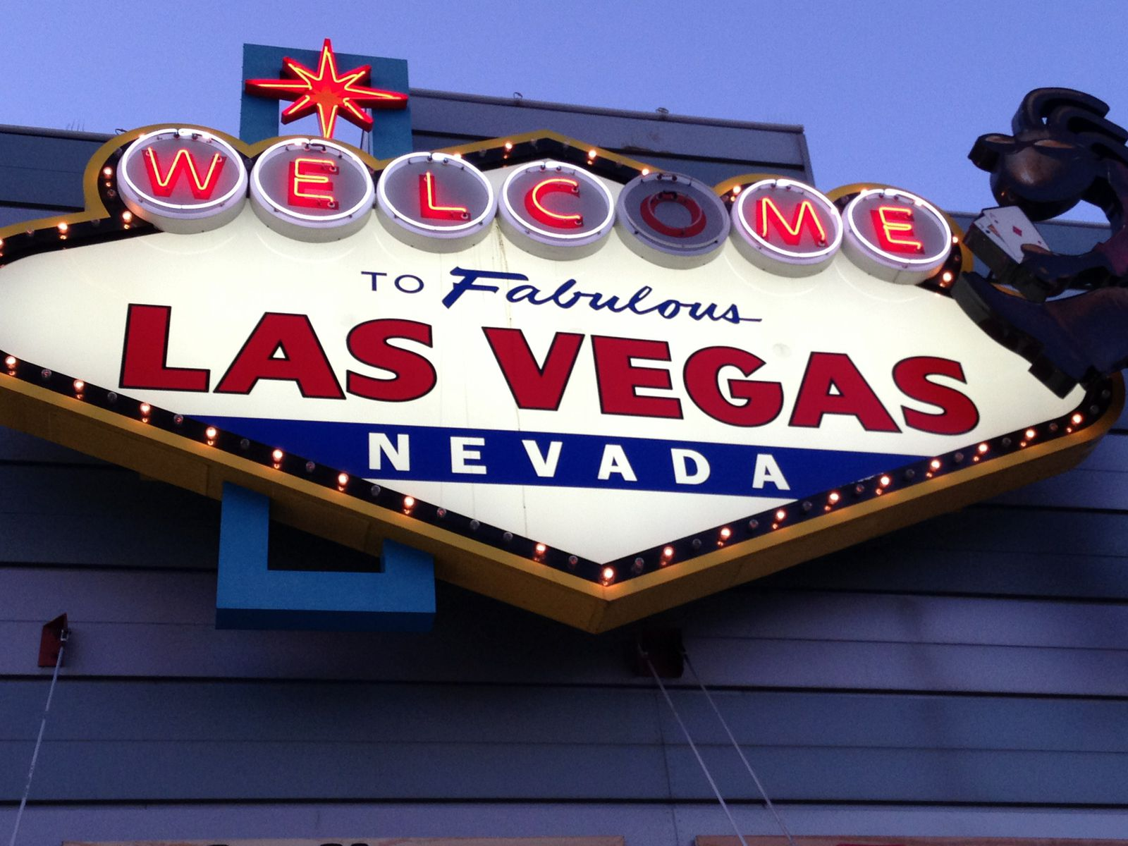 Welcome to Las Vegas !!