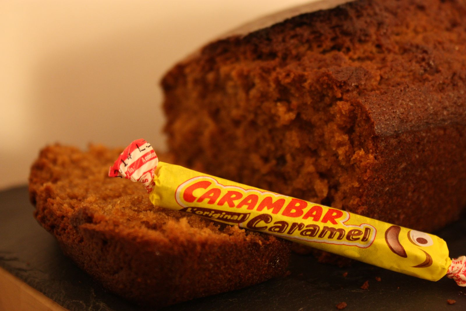Cake Carambar au caramel
