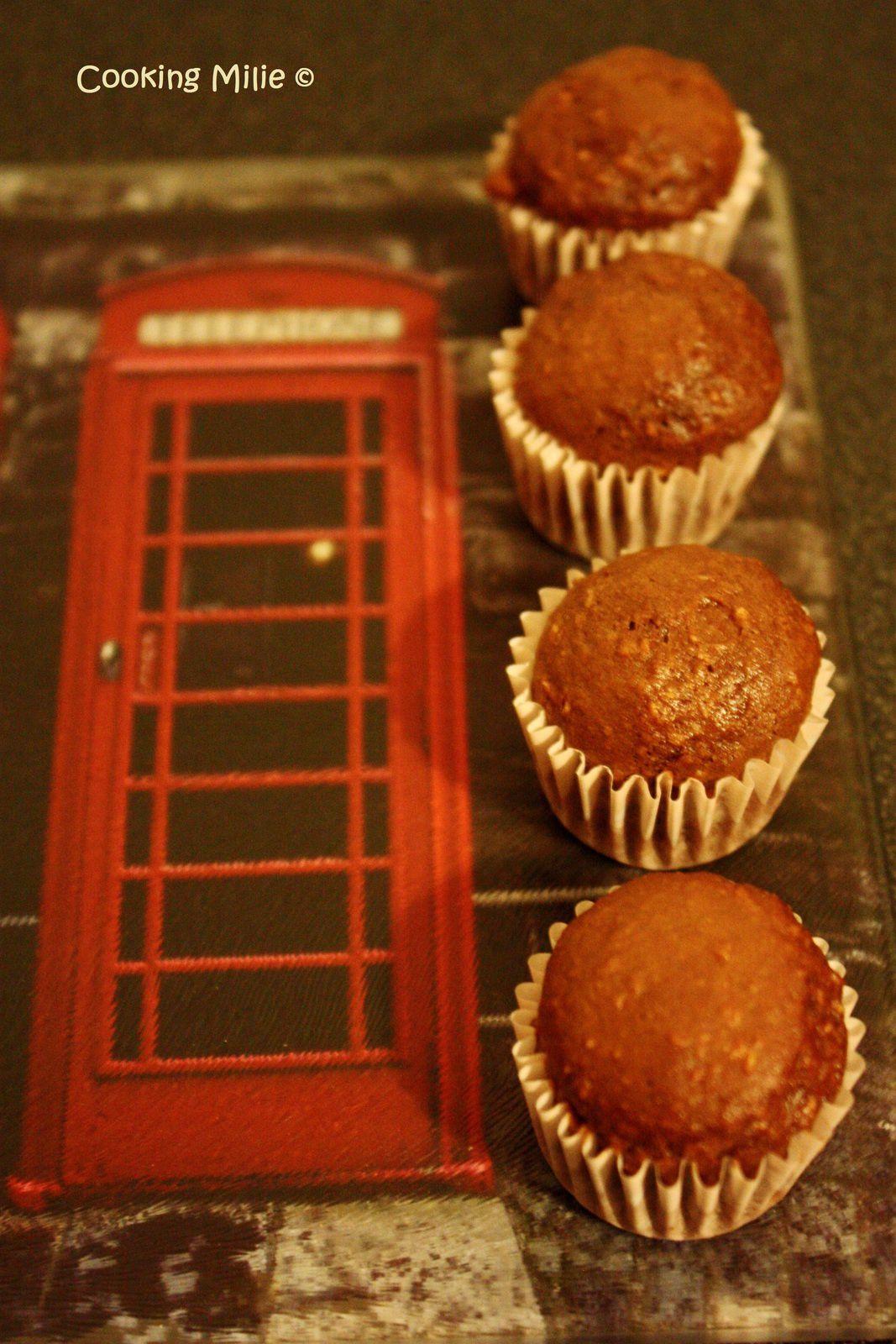 Mini muffins noix de coco et chocolat