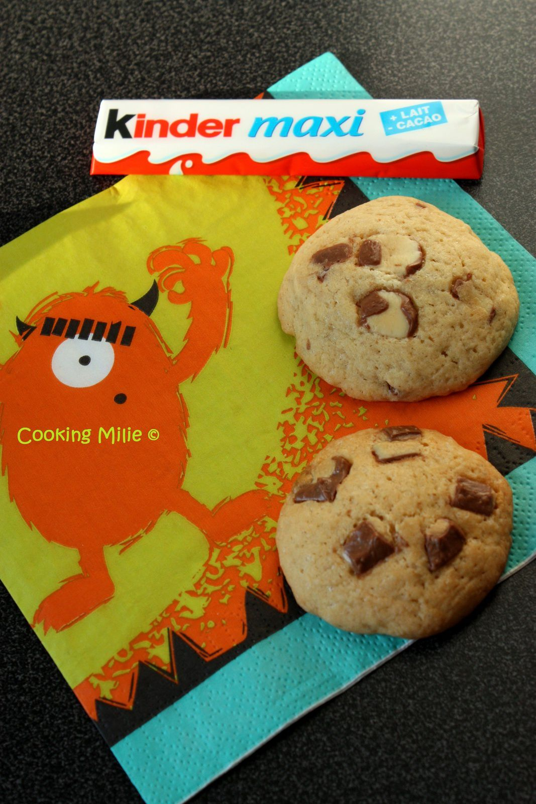 Cookies aux Kinder®