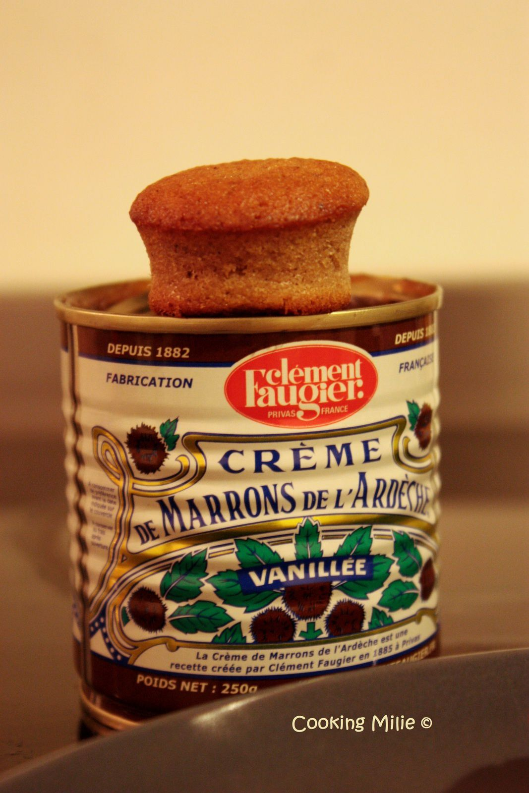 Petits fondants à la crème de marrons