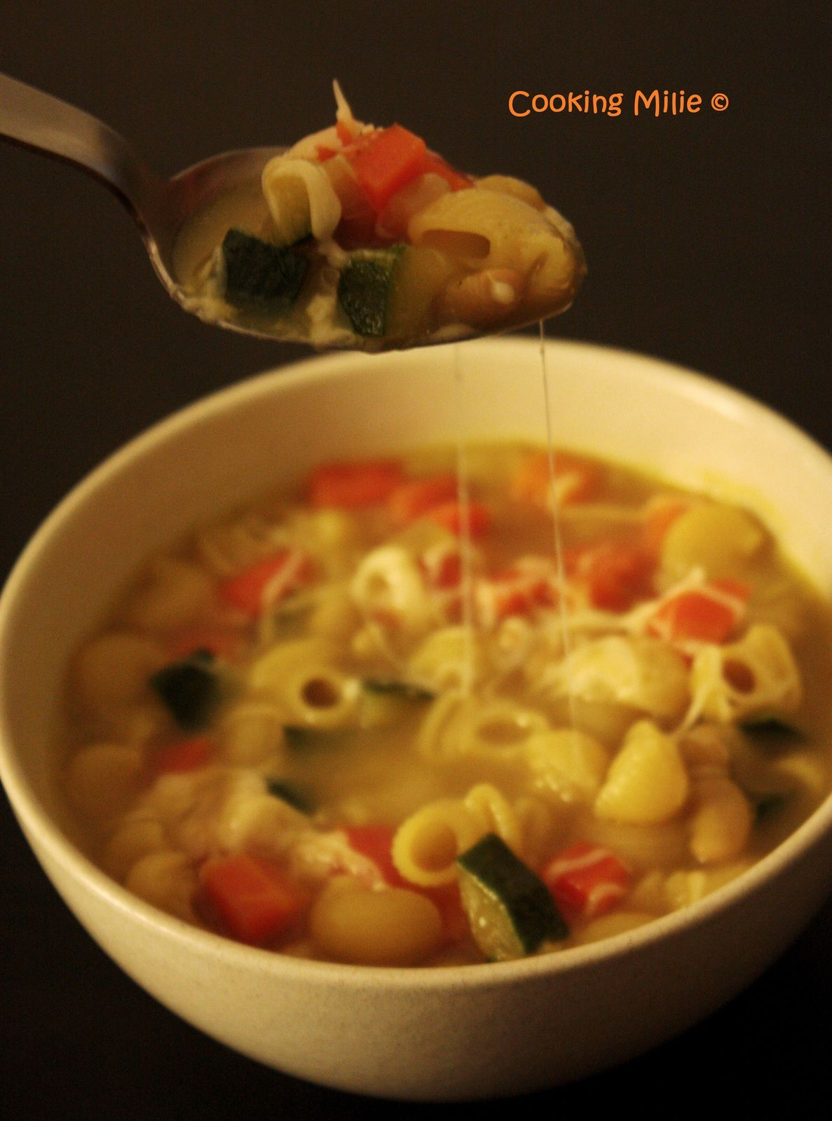 Minestrone au curry