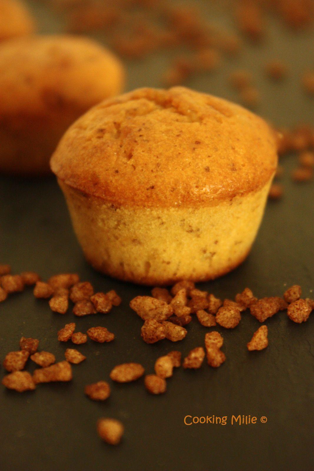 Mini muffins à l'orange et aux grains de cannelle