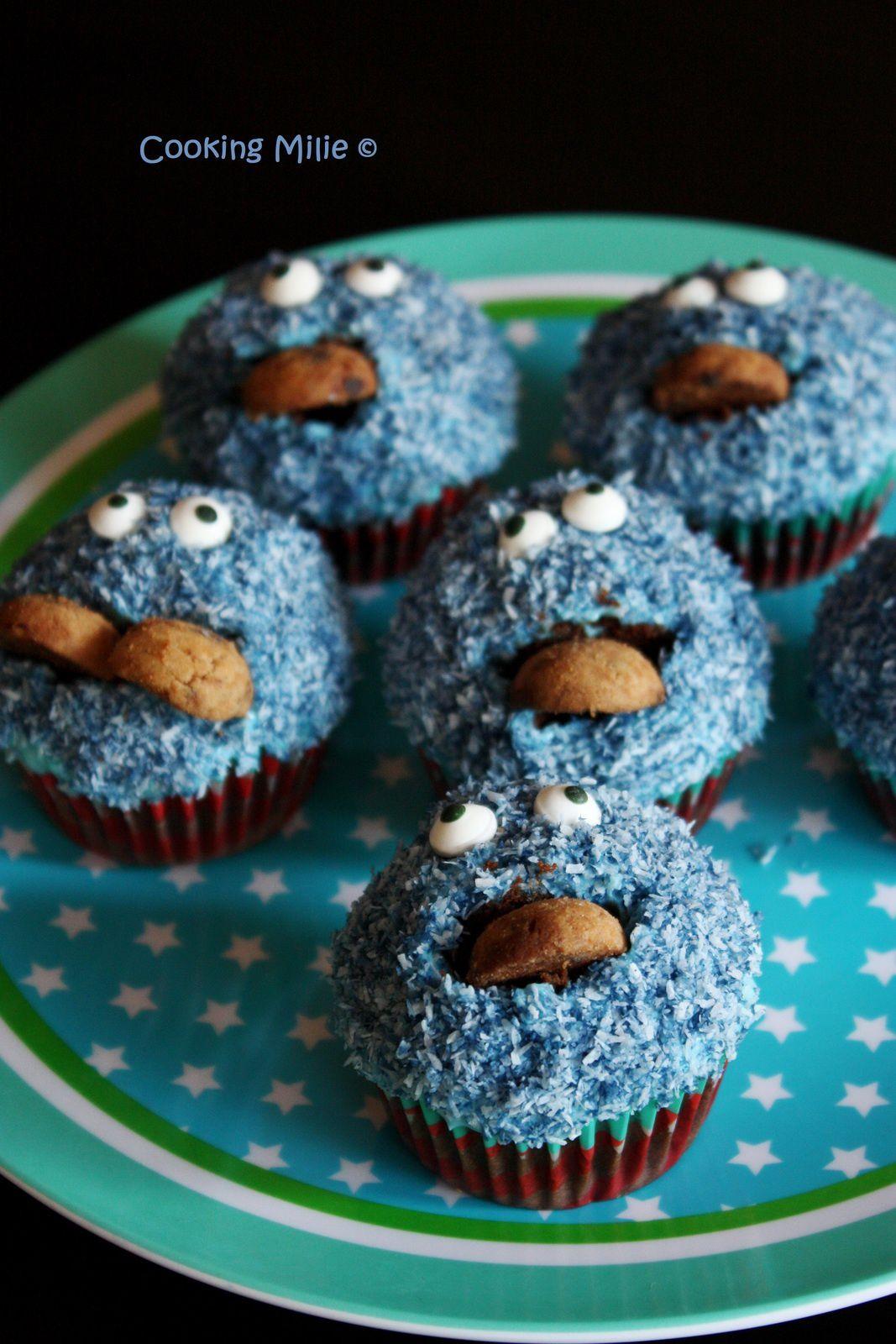 Cupcake Cookie Monster ^^