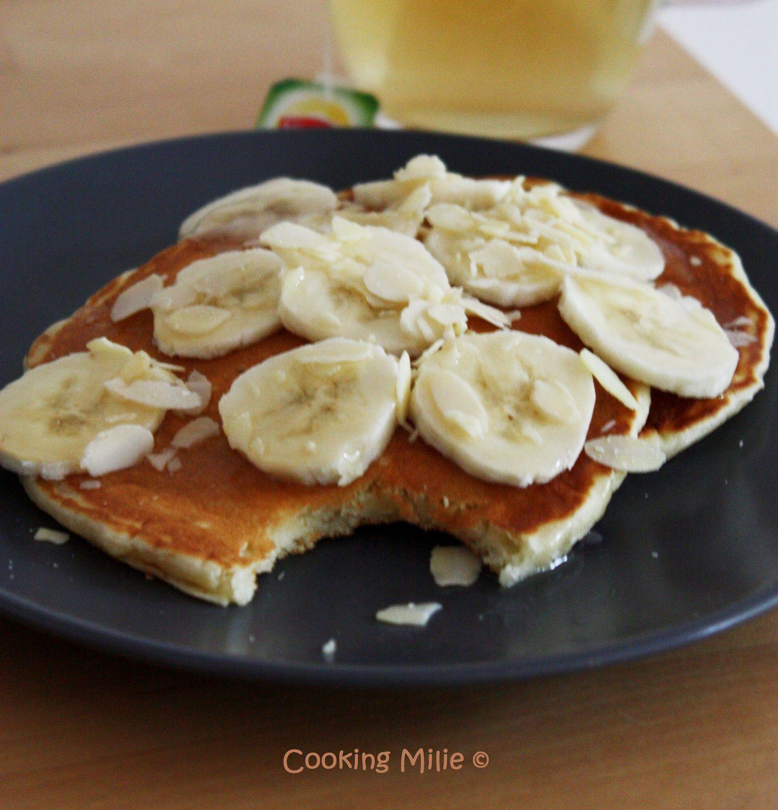 Pancakes aux amandes