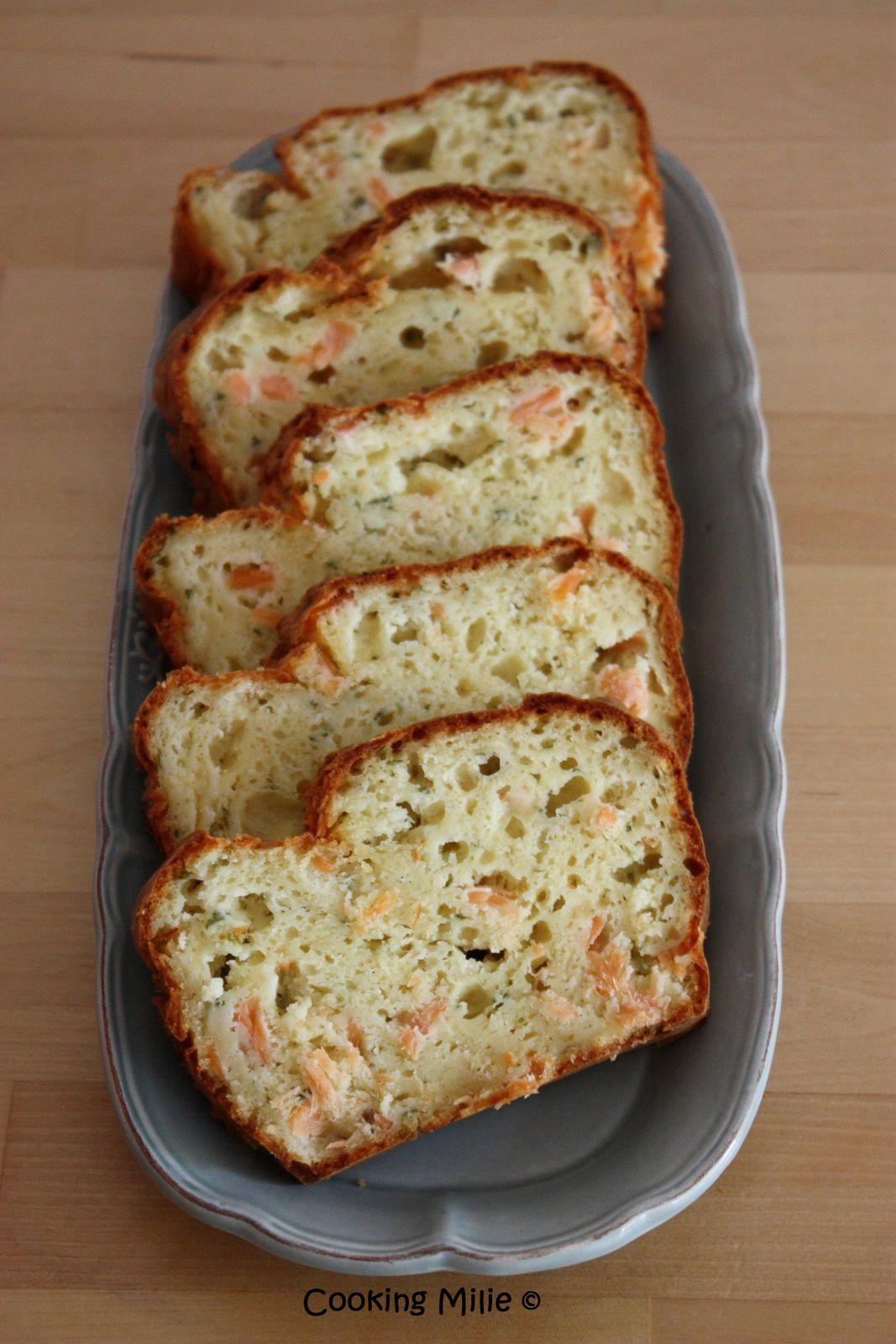 Apéritif dinatoire #60 - Cake au saumon et au Boursin®