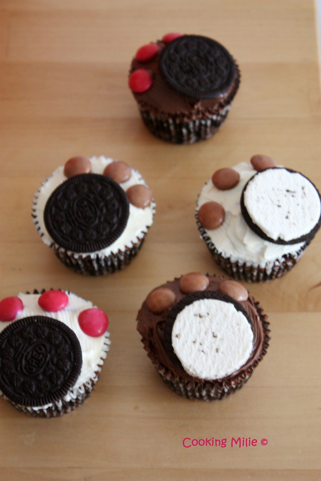 Cupcake patte d'ours