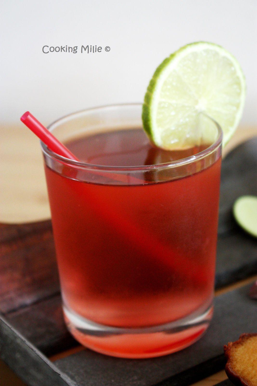 Rosella iced tea