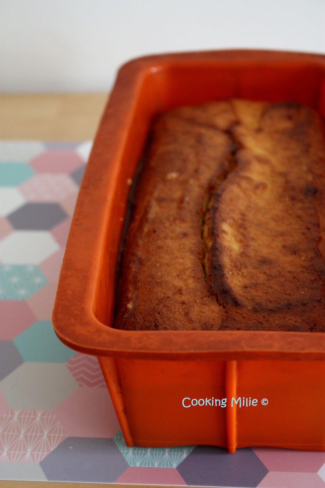 Cake fondant à la ricotta et au citron