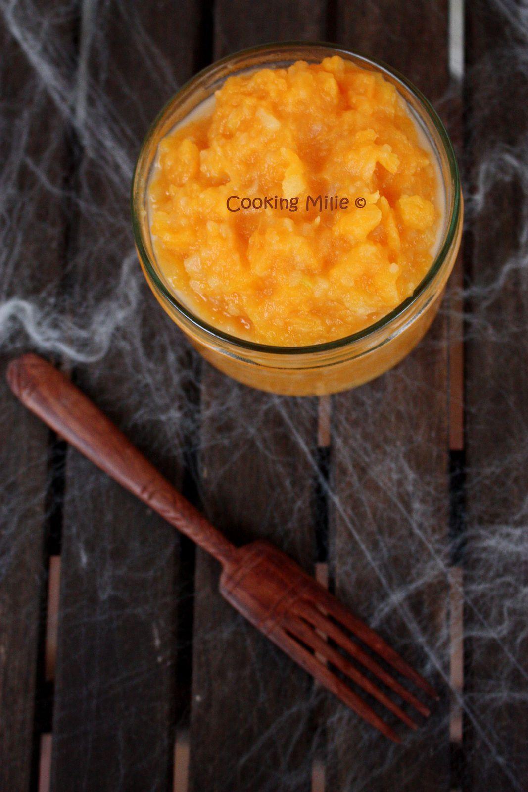 Halloween #21 - Purée de potiron