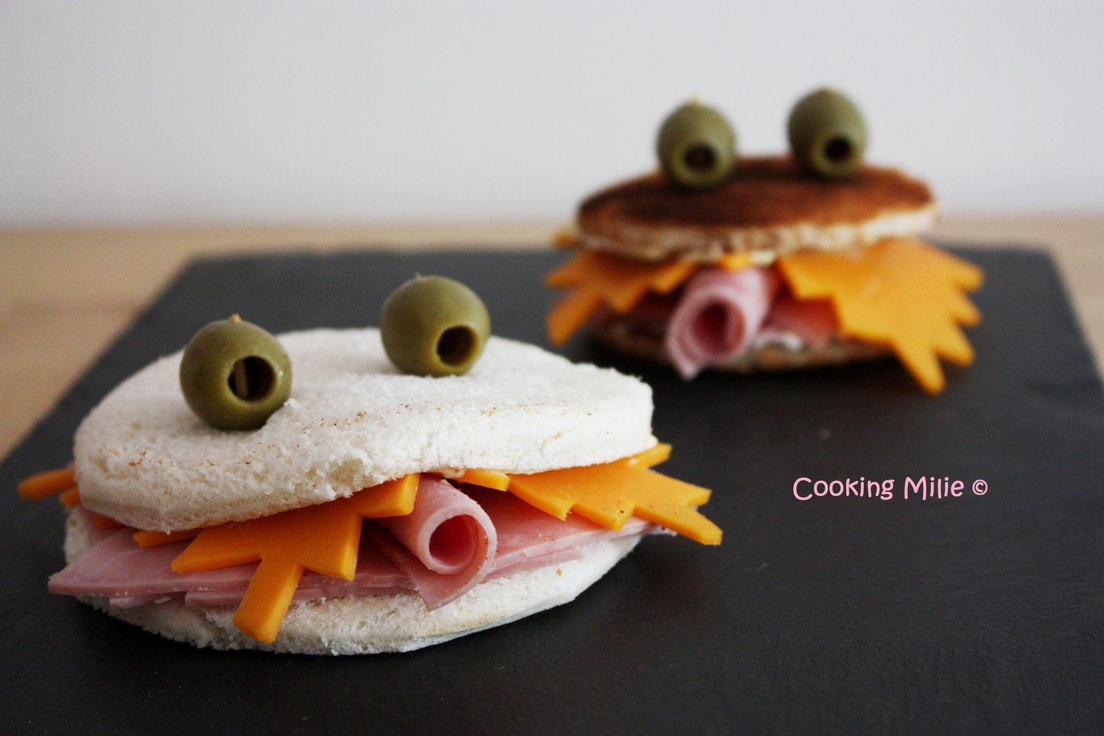 Halloween #23 - Monsters sandwiches (ou le sandwich qui a des dents)