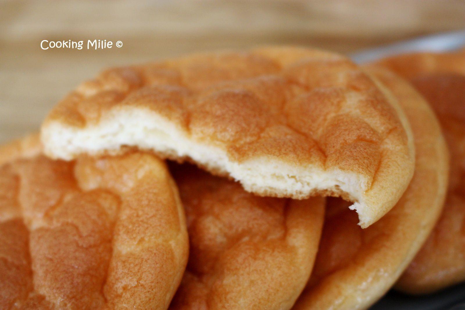 Pain nuage ou cloud bread