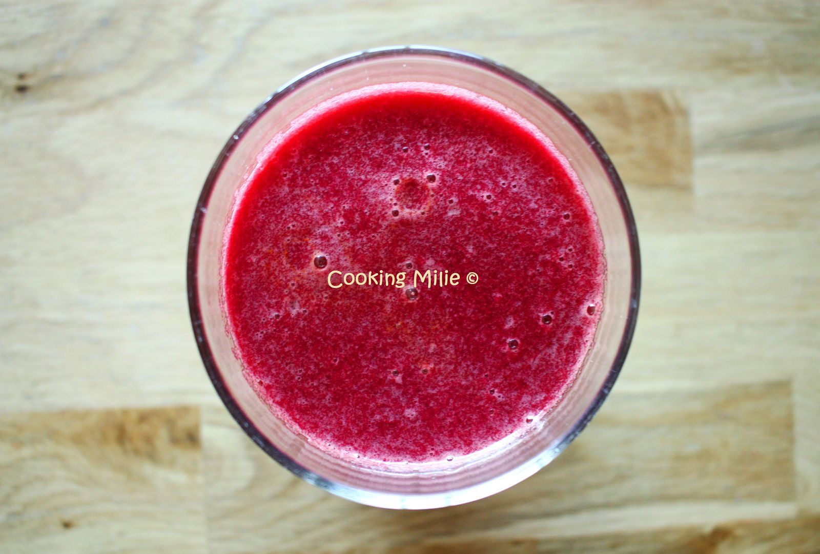 Smoothie pommes betteraves