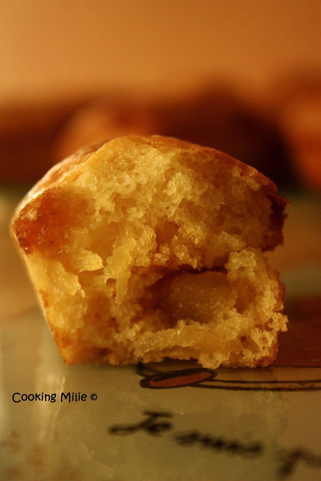 Mini cake aux pommes caramélisées