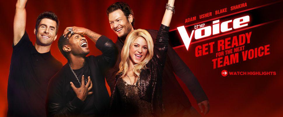 Promo de The Voice de retour ce Lundi sur NBC