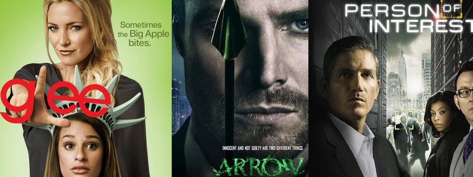 Glee / Arrow / Person Of Interest